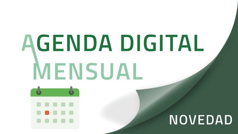 Agenda digital mensual
